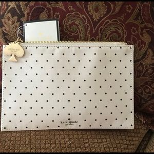 Kate Spade Pencil Pouch with accessories